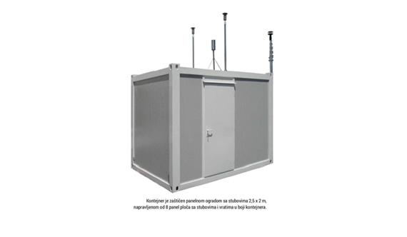 e3 global kontejner za smjestaj mjerne opreme